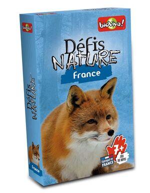 DÉFIS NATURE FRANCE (JOC DE CARTES)