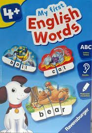 MY FIRST ENGLISH WORDS. 4+.- RAVENSBURGER