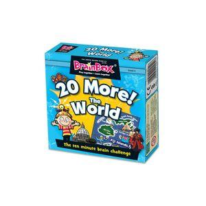 BRAINBOX 20 MORE THE WORLD- ENGLISH