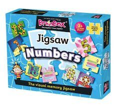 BRAINBOX JIGSAW NUMBERS (PUZZLE)