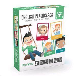 ENGLISH FLASHCARDS. MY EMOTIONS. MY DAY. MY BODY. MY VERBS. MONTESSORI METHOD