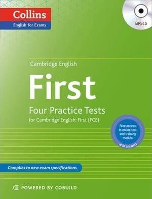 FIRST. COLLINS PRACTICE TESTS