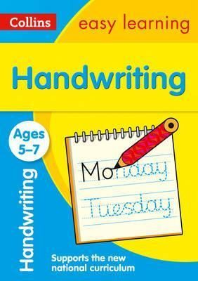 AGE 5-7 HANDWRITING  COLLIN EASY LEARNING