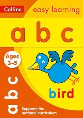 ABC AGE 3-5COLLINS EASY LEARN PRESCHOOL