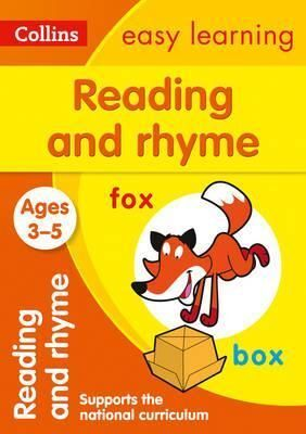 3-5 Y. READ & RHYME COLLIN EASY LEARNING