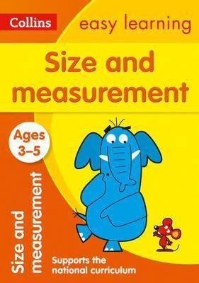 3-5 Y. SIZE AND MEASUREMENT. NEW EDITION