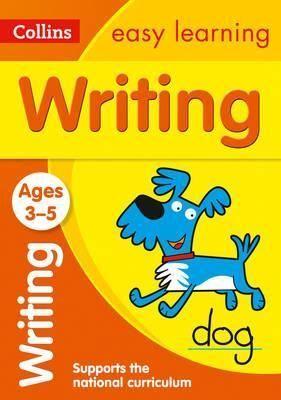 3-5Y. WRITING   EASY LEARN PRESCHOOL COLLINS