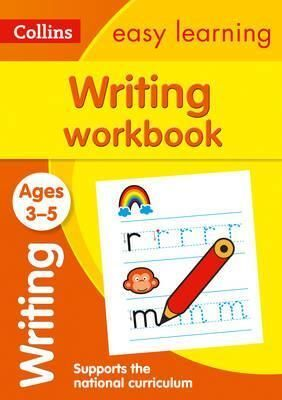 3-5Y. WRITING WORKBOOK COLLIN EASY LEARN PRESCHO