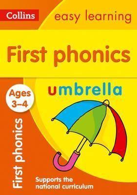 3-5 Y. FIRST PHONICS COLLIN EASY LEARN PRESCHO