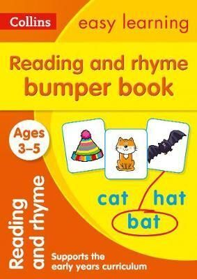 3-5 Y. READING AND RHYME BUMPER BOOK