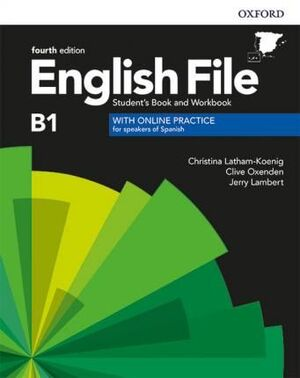 B1. ENGLISH FILE INTERMEDIATE. STUDENT'S BOOK AND WORKBOOK WITH KEY PACK. 4TH EDITION
