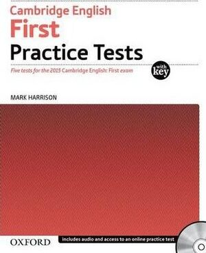 FIRST CERTIFICATE IN ENGLISH PRACTICE TEST WITH KEY EXAM PACK (3RD EDITION)