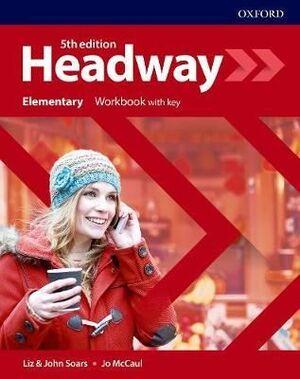 ELEM. NEW HEADWAY WORKBOOK. 5TH EDITION
