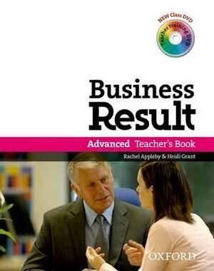 BUSINESS RESULT ADVANCED: TEACHER'S BOOK AND DVD PACK