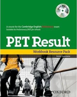 PRELIMINARY ENGLISH TEST RESULT: PRINTED WORKBOOK RESOURCE PACK WITHOUT KEY