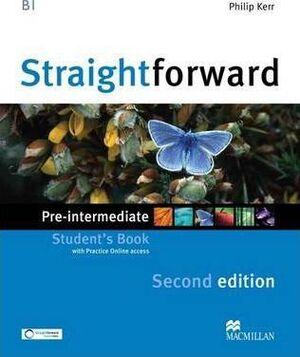 STRAIGHTFORWARD PRE-INT SB & WEBCODE 2ND ED