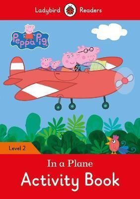 IN A PLANE ACTIVITY BOOK. PEPPA PIG