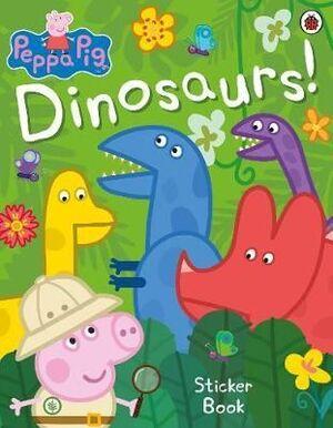 PEPPA PIG DINOSAURS STICKER BOOK