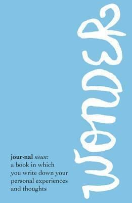 WONDER JOURNAL [LLIBRETA]