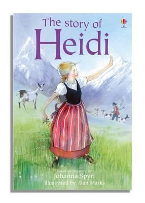THE STORY OF HEIDI. YOUNG READING. SERIES TWO. BLUE