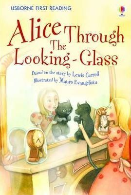 ALICE THROUGH THE LOOKING GLASS. YOUNG READING. SERIES TWO. BLUE