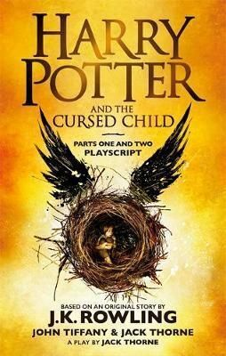 HARRY POTTER AND THE CURSED CHILD. TAPA TOVA