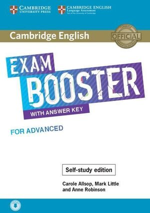 C1. EXAM BOOSTER WITH ANSWER KEY FOR ADVANCED - SELF-STUDY EDITION. CAMBRIDGE ENGLISH