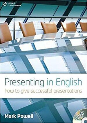 PRESENTING IN ENGLISH +CD AUDIO