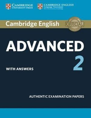 CAMBRIDGE CERTIF. ADVANCED 2 ST WITH KEY 15