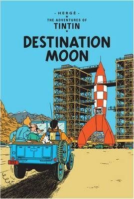 DESTINATION MOON. TINTIN