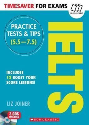 TIMESAVER FOR EXAMS: TESTS IELTS 1 +CD