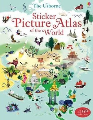 PICTURE ATLAS OF THE WORLD STICKER