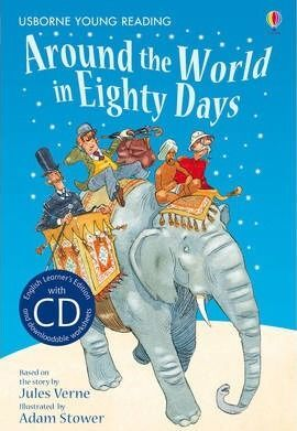 AROUND THE WORLD IN EIGHTY DAYS (YOUNG READING SERIES TWO WITH AUDIO CD)