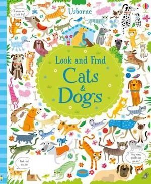 CATS AND DOGS LOOK AND FIND