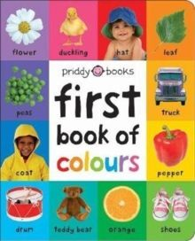 COLOURS FIRST BOOK OF  SOFT TO TOUCH LARGE EDITION