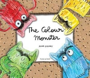 HB. THE COLOUR MONSTER POP-UP