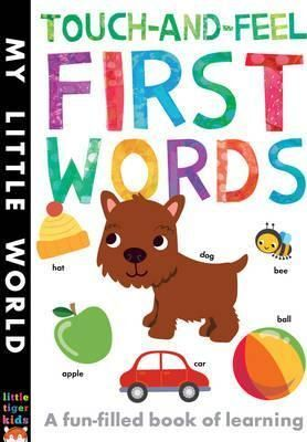 TOUCH-AND-FEEL FIRST WORDS : A FUN-FILLED BOOK OF FIRST WORDS