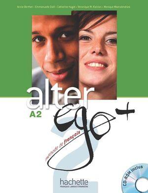 ALTER EGO 2 PLUS CD.- A2 LIVRE DE L'ELEVE