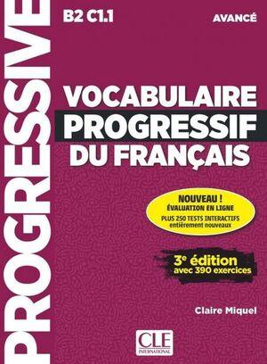 B2-C1.1. VOCABULAIRE PROGRESSIF FRANCAIS. AVANCE