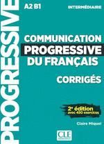 A2-B1. COMMUNICATION PROGRESSIVE DU FRANÇAIS CORRIGES