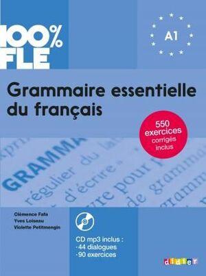GRAMMAIRE ESSENTIELLE DU FRANÇAIS A1 LIVRE+CD