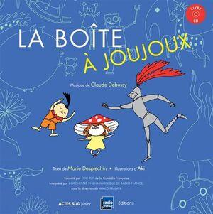 LA BOITE A JOUJOUX + CD