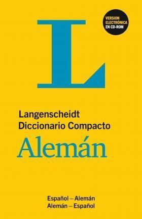 DICCIONARIO COMPACTO ALEMÁN - BUCH UND CD-ROM : DEUTSCH-SPANISCH / SPANISCH-DEUTSCH
