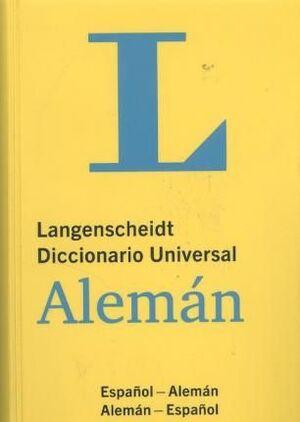 DICCIONARIO UNIVERSAL ALEMÁN : DEUTSCH-SPANISCH/, PANISCH-DEUTSCH. 33.000 STICHWÖRTER UND WENDUNGEN