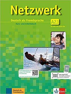 NETZWERK A2.1 ALUMNO + EJERCICIOS+ 2CD +DVD