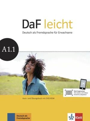 DAF LEICHT: A1.1 KURS- UND UBUNGSBUCH MIT DVD-ROM