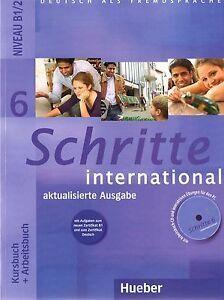 B1/2. SCHRITTE INTERNATIONAL BOOK 6 KURBUCH & ARBEITSBUCH