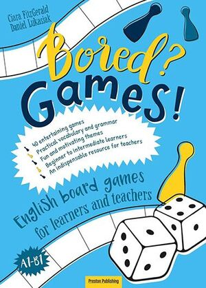 A1-B1. BORED GAMES ENGLISH BOARD