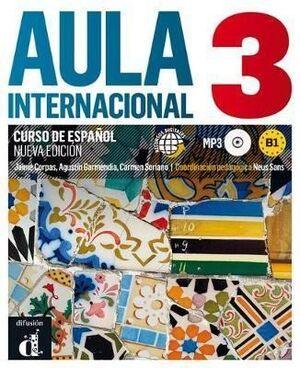 AULA INTERNACIONAL 3 NUEVA EDICIÓN (B1) - LIBRO DEL ALUMNO + MP3