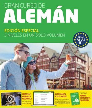 GRAN CURSO ALEMÁN NIVEL A1-A2-B1